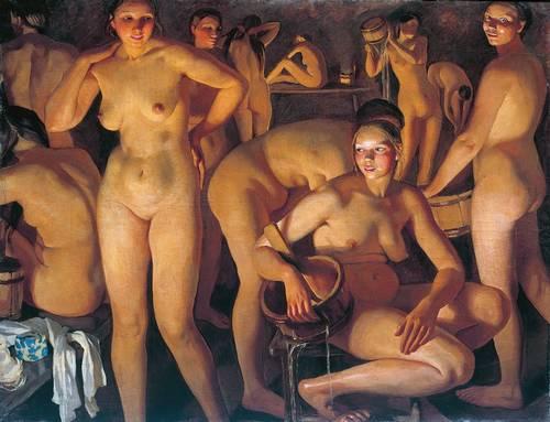 Баня. 1913 Серебрякова Зинаида Евгеньевна